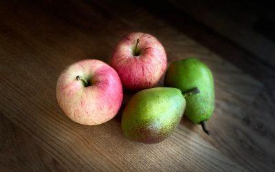 Jämför inte äpplen med päron!